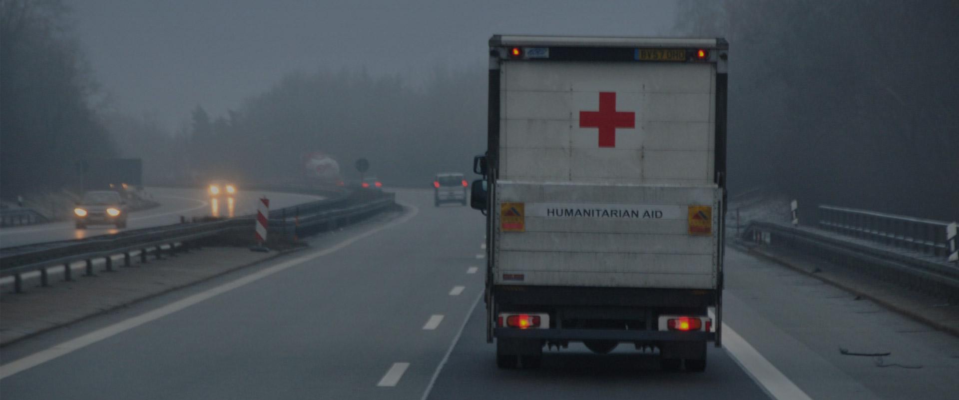 Yorkshire Aid Convoy Van